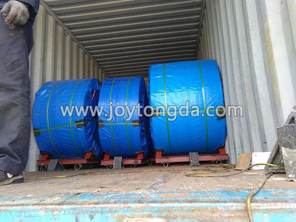 Fabric Core Conveyor Belt Export to Vietnam